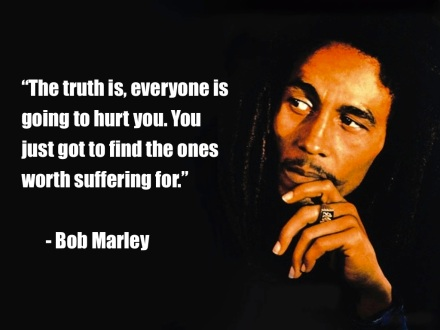 Bob Marley Love Quote