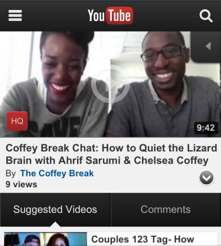 Coffey Break Chat_Quieting the Lizard Brain Chelsea Coffey Ahrif Sarumi